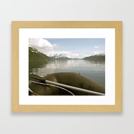 Whittier, Alaska Framed Art Print