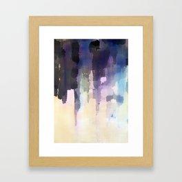 Purple Ink Framed Art Print