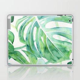 Monstera Leaf Pattern Laptop & iPad Skin