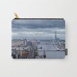 Samuel Beckett bridge aerial view Carry-All Pouch