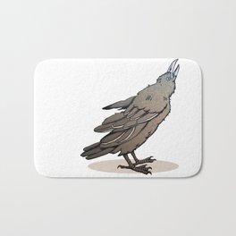 Crowing Crow Bath Mat
