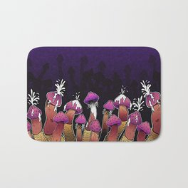 Infected Mushroom Bath Mat