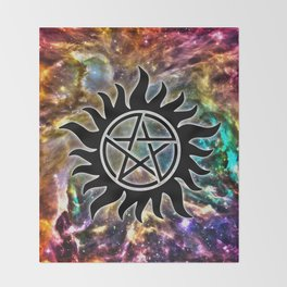 Supernatural Throw Blanket