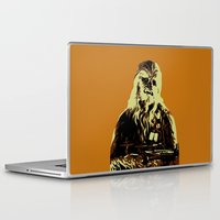 chewbacca Laptop & iPad Skins featuring Chewbacca by iankingart