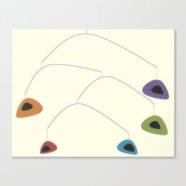 Mid-Century Modern Art 2.6 Canvas Print