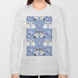 Staffordshire Dogs + Ginger Jars No. 1 Long Sleeve T-shirt