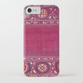 Shakhrisyabz  Southwest Uzbekistan Suzani Embroidery Print iPhone Case