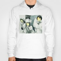 picasso Hoodies featuring Painting Picasso by Marko Köppe