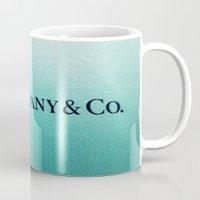 tiffany Mugs featuring Tiffany by Christine Leanne