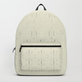Boho white chocolate Backpack