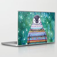 penguin Laptop & iPad Skins featuring penguin by beart24