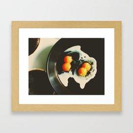 Double Yolk II Framed Art Print