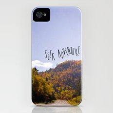 seek adventure iPhone (4, 4s) Slim Case