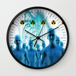 Aliens Gang & Acid Radioactivity Cure Wall Clock