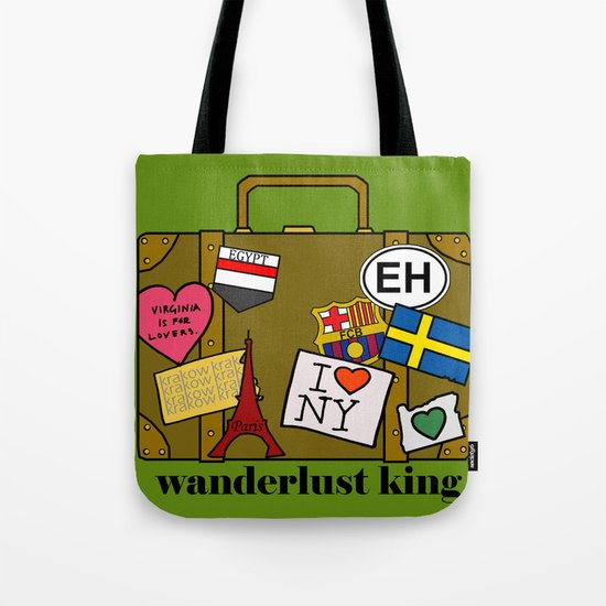 Wanderlust King Tote Bag