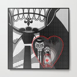 """""""The darkness in my heart..."""" Metal Print"""