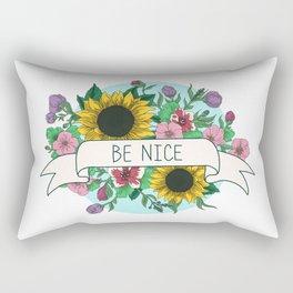 Be Nice Rectangular Pillow