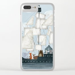 a nautical adventure Clear iPhone Case