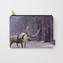Reindeer Are Better Than People Carry-All Pouch