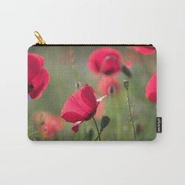 #Poppy #flower in #Summer #light Carry-All Pouch