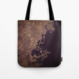 Ripples of Gold Tote Bag