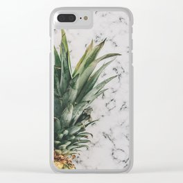 Pineapple Luxe Clear iPhone Case