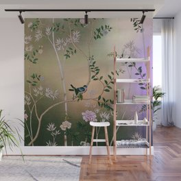 Chinoiserie Style Wall Mural