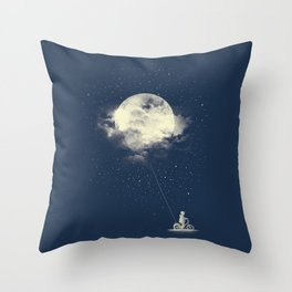 THE BOY WHO STOLE THE MOON Throw Pillow