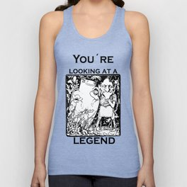 You're Looking At A Legend St Patricks Day Clurichaun Unisex Tank Top