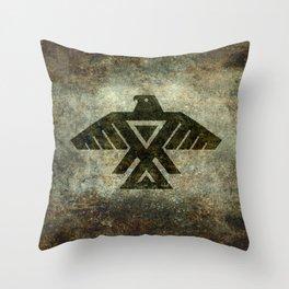 Thunderbird, Emblem of the Anishinaabe people Throw Pillow