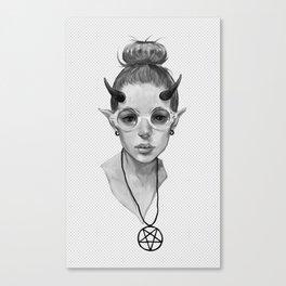Monster Girl #3a Canvas Print