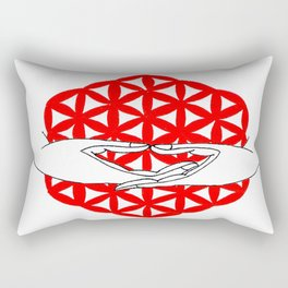 dhyana mudra Rectangular Pillow