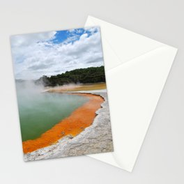 Thermal Pool Stationery Cards