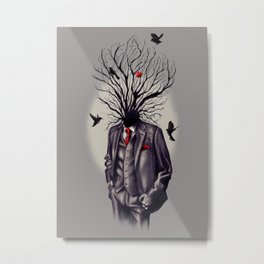 Adam's Tree Metal Print