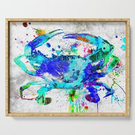 Blue Crab Serving Tray