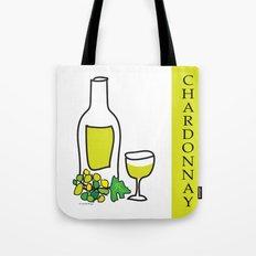 Chardonnay Wine Tote Bag