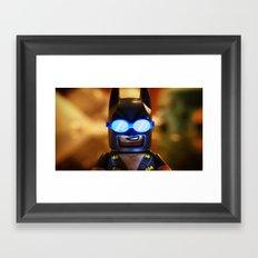 Beach Bat Framed Art Print