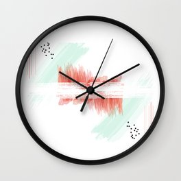 Word Project: Pattern Wall Clock