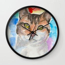 A Cat's eyes Wall Clock
