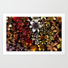 Morphological Riffing Art Print