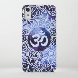 Om Galaxy Mandala iPhone Case
