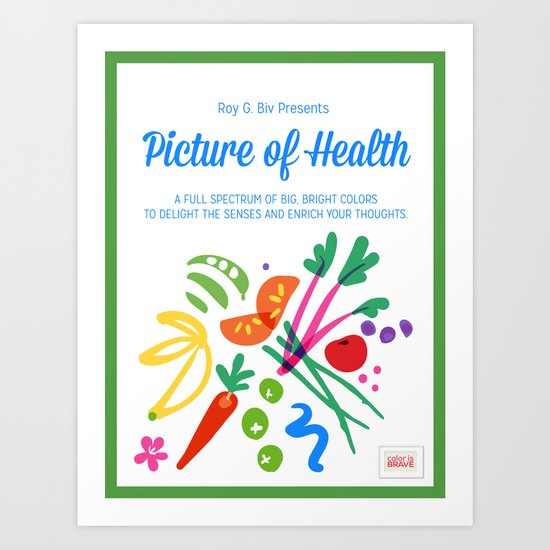 Picture of Health Art Print