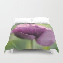 Poppy Violet Duvet Cover