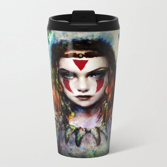 princess  Metal Travel Mug