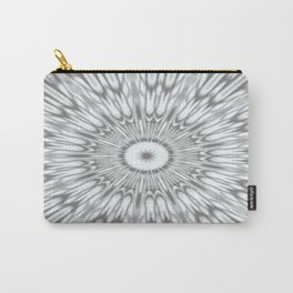 Gray Kaleidoscope Carry-All Pouch