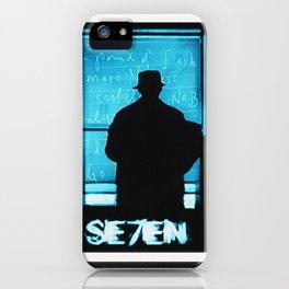 SE7EN TRIPTYCH iPhone Case