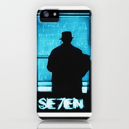 SE7EN TRIPTYCH iPhone Case
