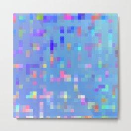 pixelfetti Metal Print