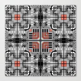 Geometric v6 Canvas Print
