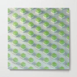 Energy Cubes Metal Print